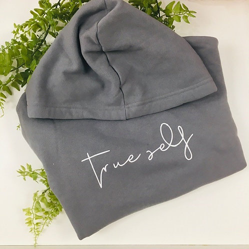 Crop Hoodie - True Self
