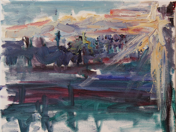 Irina Grobman- Sunset Reflections
