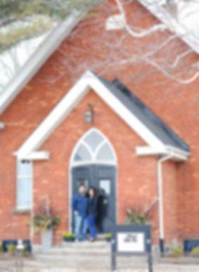 the Hartman historic church gallery venue