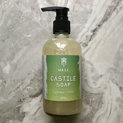 Liquid Castile Soap - Cypress Lime
