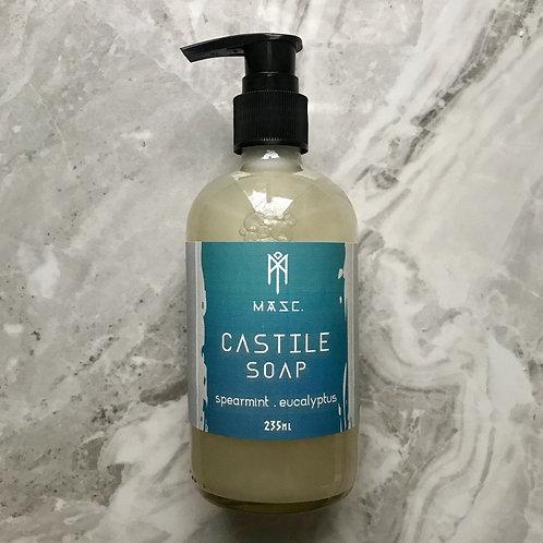 Liquid Castile Soap - Eucalyptus Spearmint