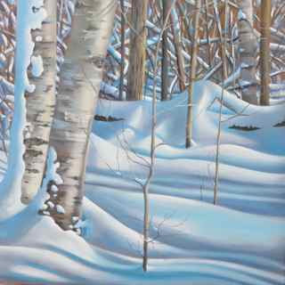 Barb McGuey- Winter Tracks