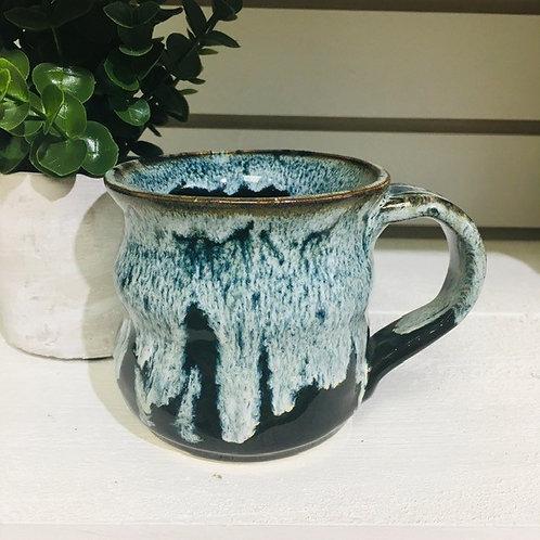 Ceramic Pottery Mug Locally Handmade-Aqua