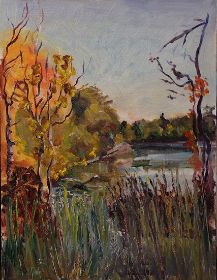 Irina Grobman- Lake Wilcox in the Fall