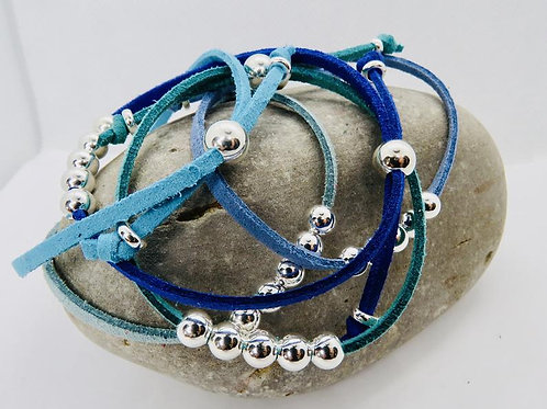 Blue & Green Friendship Bracelets