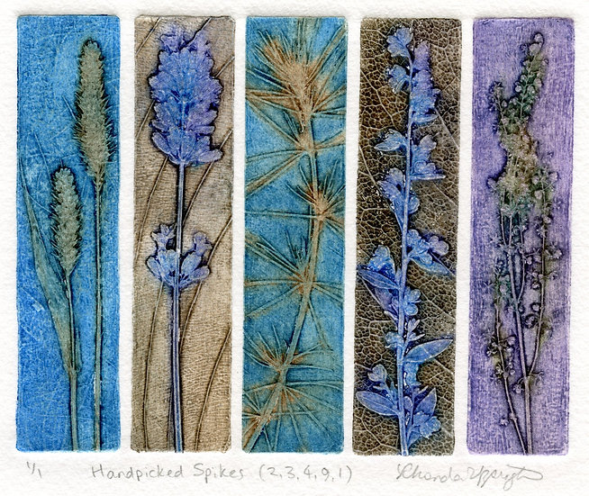 Rhonda Uppington- Hand Picked Spikes (2,3,4,9,1)