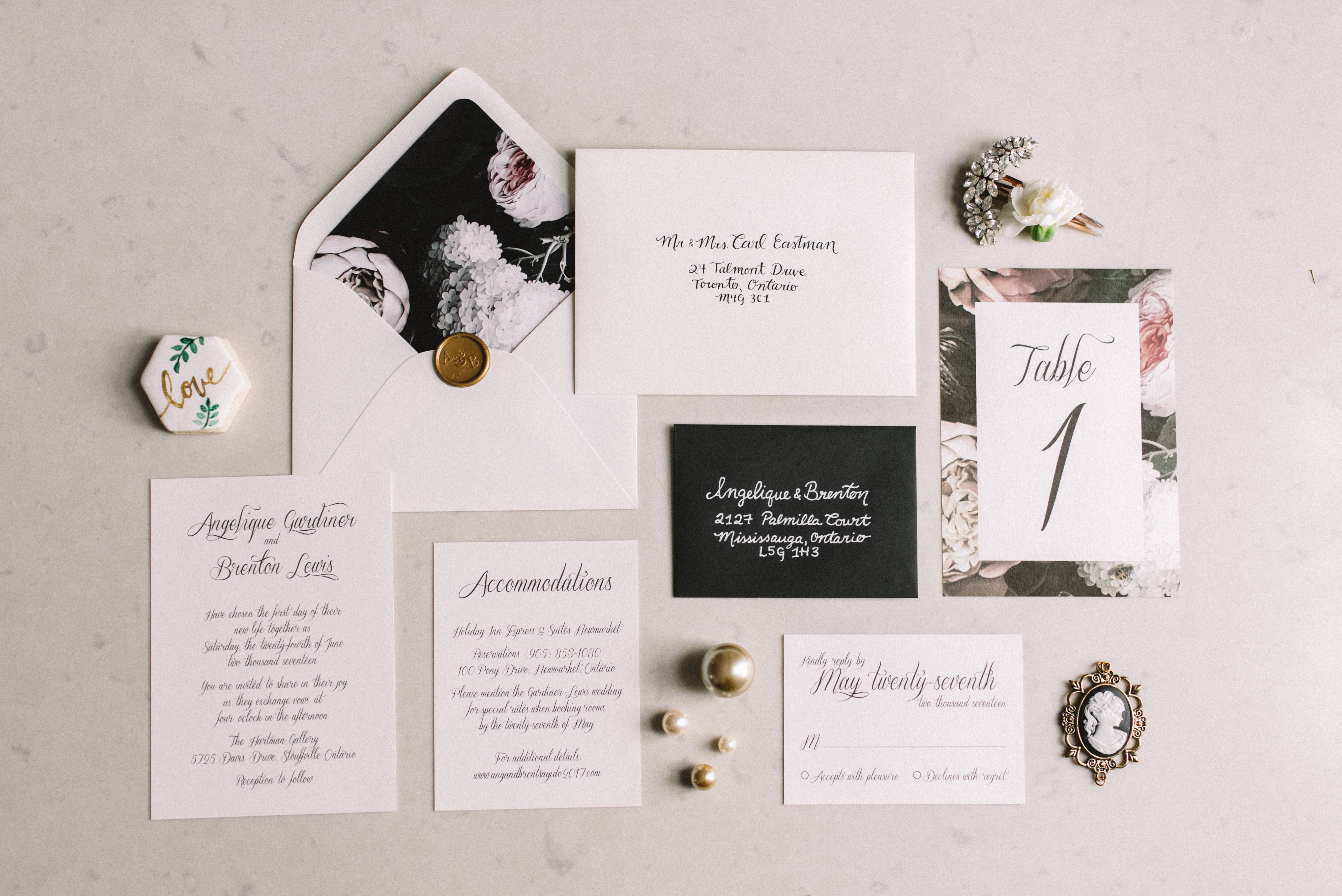 "Styled shoot see ""Dark Floral"" in Gallery page"