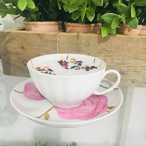 Vintage Collectors Tea Cup Candles