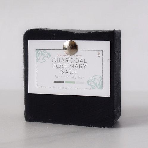 Charcoal Rosemary Sage Bar