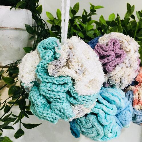Hand Crocheted Loofas