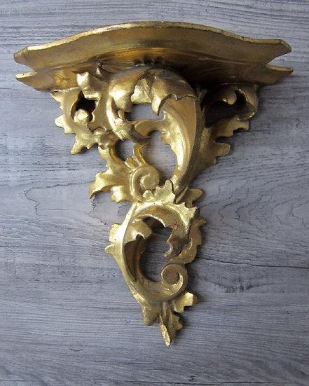 antique gold leaf Italian sconces