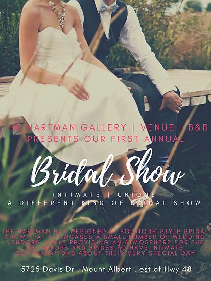 The Hartman Bridal Show