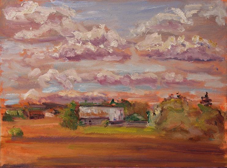 Irina Grobman- Summer Clouds