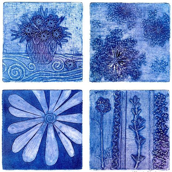 Rhonda Uppington- Rhapsody of Blossoms in Blue