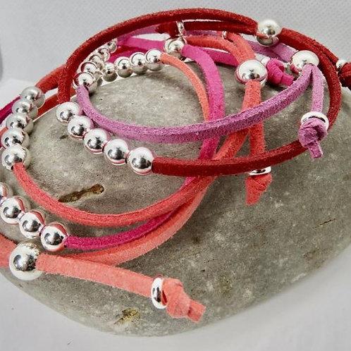 Pink Friendship Bracelets