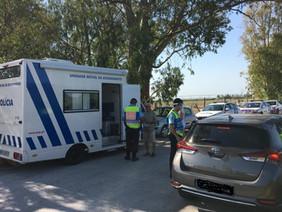 PSP fiscaliza 182 condutores na Recta do Cabo