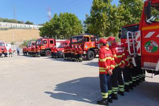 Liga quer vacinação prioritária dos bombeiros