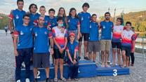 Canoístas do Alhandra conquistam cinco medalhas