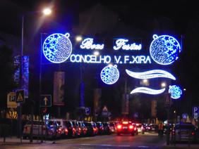 Concelho de Vila Franca reforça iluminações de Natal
