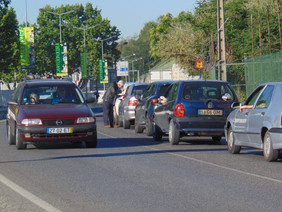 Obras na entrada de Vila Franca ficam prontas em Setembro