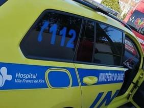 Colisão fez dois feridos graves em Benavente