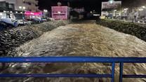 Chuva intensa cortou estradas em Alenquer