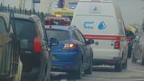 Avaria e acidente entopem entrada de Vila Franca