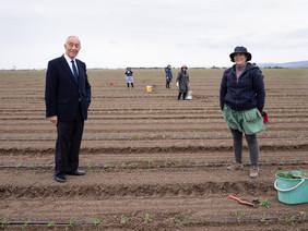 Marcelo realça agricultura na Lezíria de Vila Franca