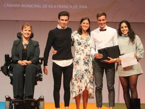 Centenas de atletas distinguidos em Vila Franca