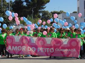"""Caminhada """"Amor de Peito"""" mobiliza 400"""