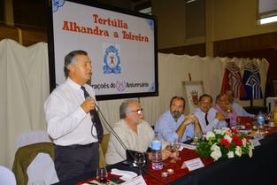 Tertúlia de Alhandra celebra 25 anos e homenageia Victor Mendes