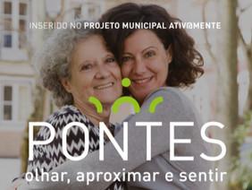 """Programa """"Pontes"""" apoia pessoas isoladas"""