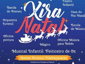 Xira Natal dinamiza Vila Franca