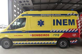 Acidente vitima dois jovens em Vialonga