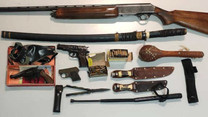 PSP apreende 9 armas no Forte da Casa