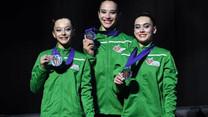 Ginastas da região conquistam título europeu em Itália
