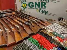 18 armas apreendidas em Benavente