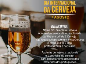 Dia da Cerveja é celebrado hoje