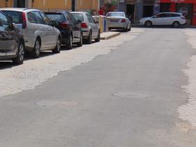 200 reclamam conclusão de obras na Avenida dos Combatentes