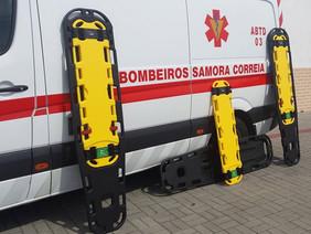 Bombeiros de Samora dados todos como curados