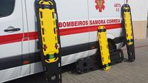 Despiste fere cinco bombeiros em Samora Correia