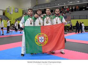 Karatecas do concelho sobem ao pódio no Mundial