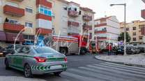 Incêndio em prédio alarmou Castanheira do Ribatejo