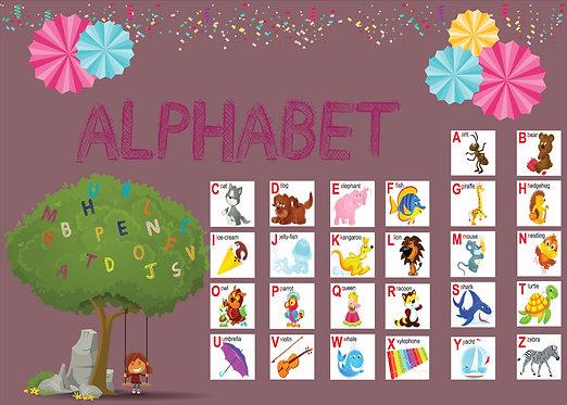 Alfabe - Alphabet