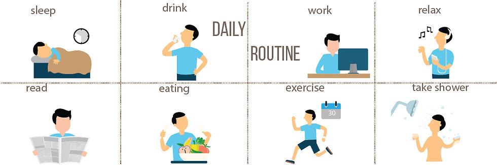 Günlük İşler - Daily Routine