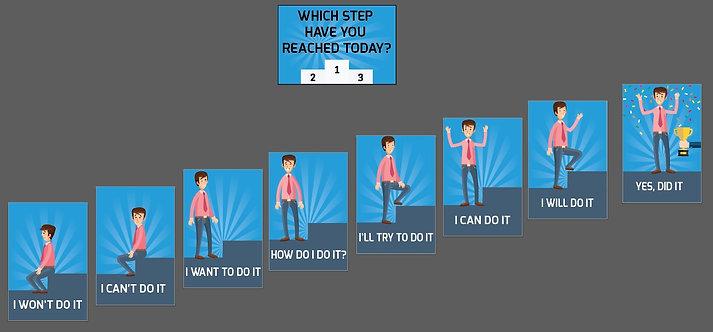 9lu Set - Hangi adıma geldin? / Mavi