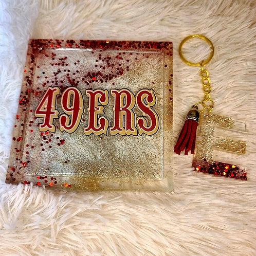 49ers Coasters