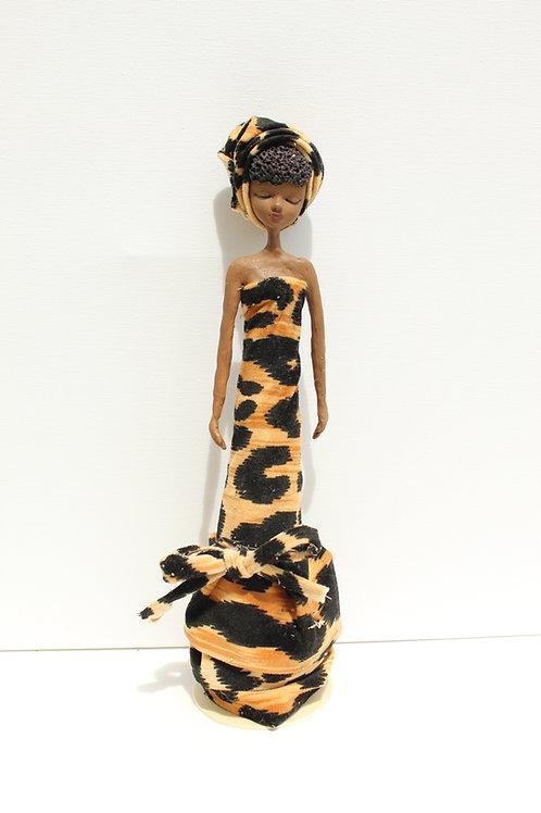 leopard Queen Doll