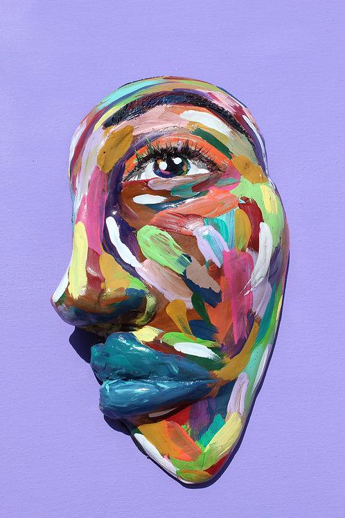 Woman of color sculpture