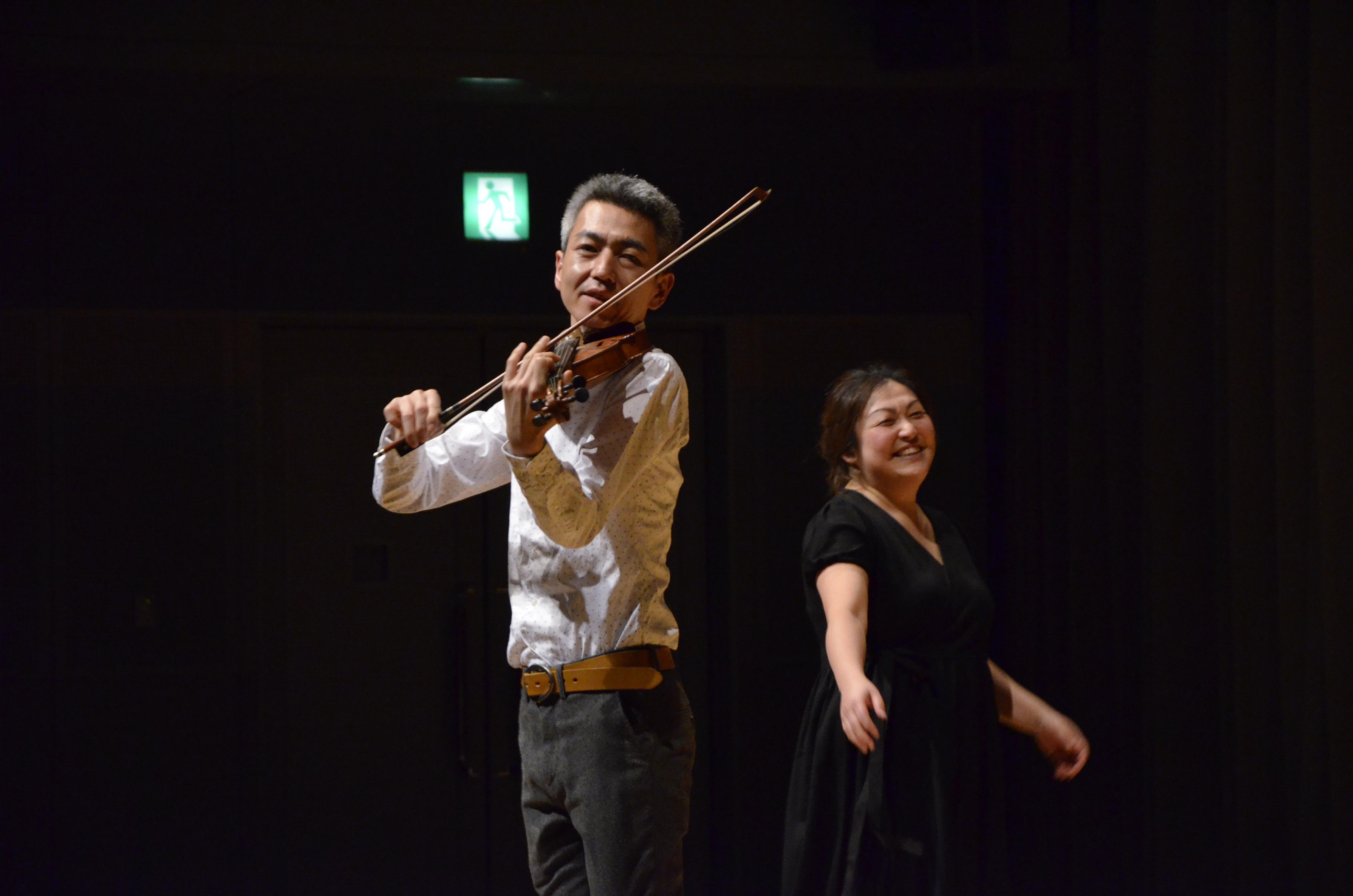 喜多直毅のヴァイオリン